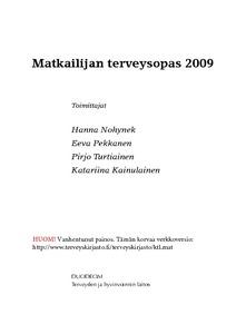 Matkailijan Terveysopas 2009
